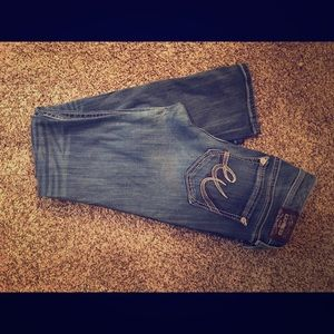 Exspress jeans, size 11 but fit smaller